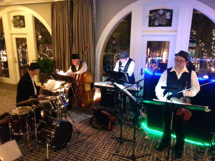 BBMP - BBMP Jazz Quartet Prepping for Wedding Reception