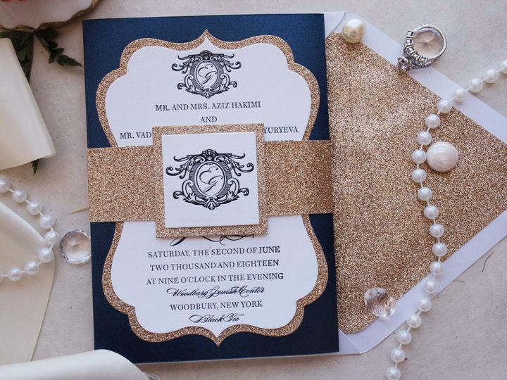 Tmx 1519530161 99d969bd2b5606e8 1519530159 1f715b0734c24950 1519530159343 2 Unnamed 2 Hawthorne, NJ wedding invitation