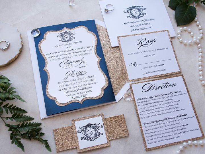 Tmx 1519530664 Fe98ca9970746f93 1519530660 F7a7ebede64106dd 1519530658318 10 Untitled  9 Of 39 Hawthorne, NJ wedding invitation