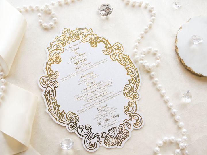 Tmx Brunomenu 51 977448 Hawthorne, NJ wedding invitation