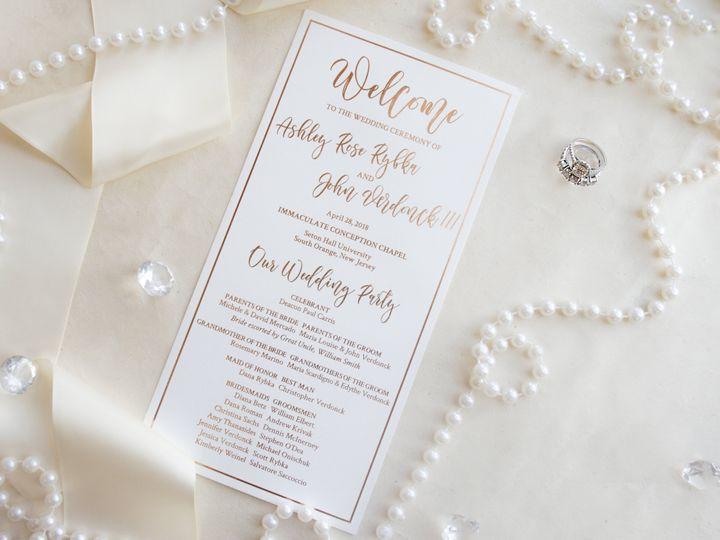 Tmx Ceremonycard 51 977448 Hawthorne, NJ wedding invitation