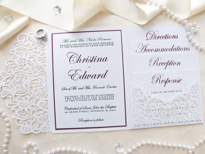 Tmx Christina2 51 977448 Hawthorne, NJ wedding invitation