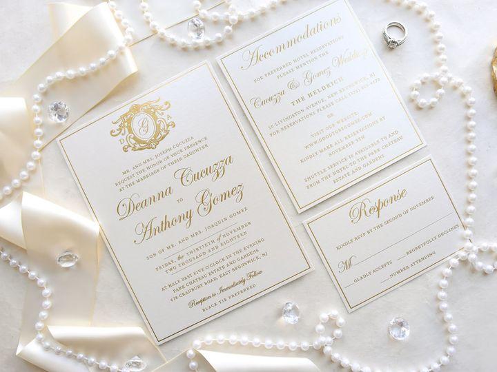 Tmx Deannaandanthony3 51 977448 Hawthorne, NJ wedding invitation