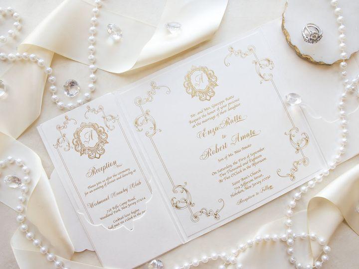 Tmx Enzainvite2 51 977448 Hawthorne, NJ wedding invitation