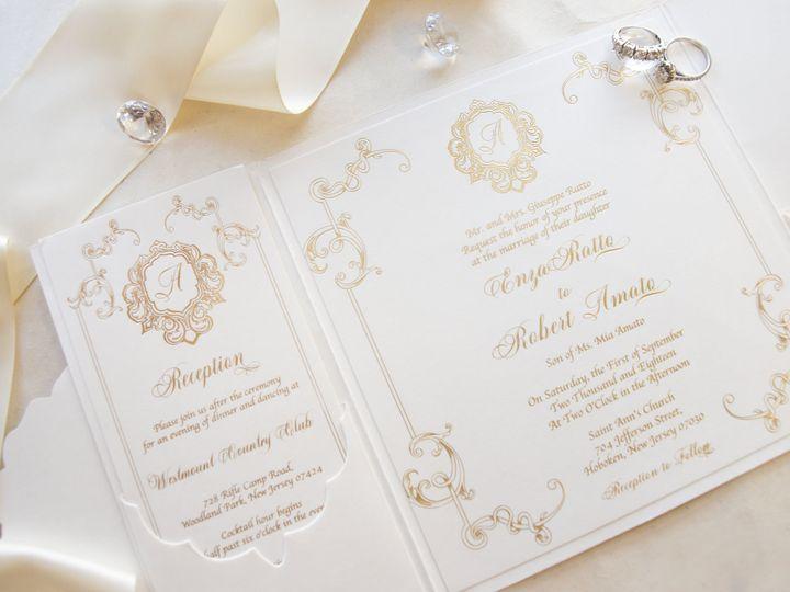 Tmx Enzainvite3 51 977448 Hawthorne, NJ wedding invitation