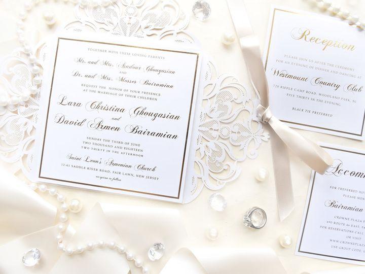 Tmx Laraanddavid1 51 977448 Hawthorne, NJ wedding invitation