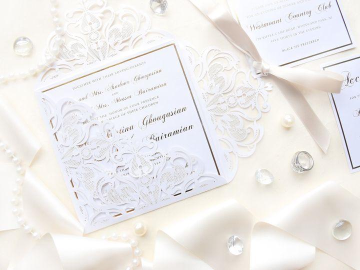 Tmx Laraanddavid2 51 977448 Hawthorne, NJ wedding invitation