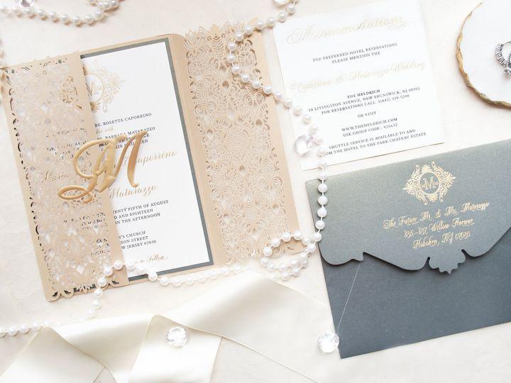 Tmx Mariainvite2 1 51 977448 Hawthorne, NJ wedding invitation