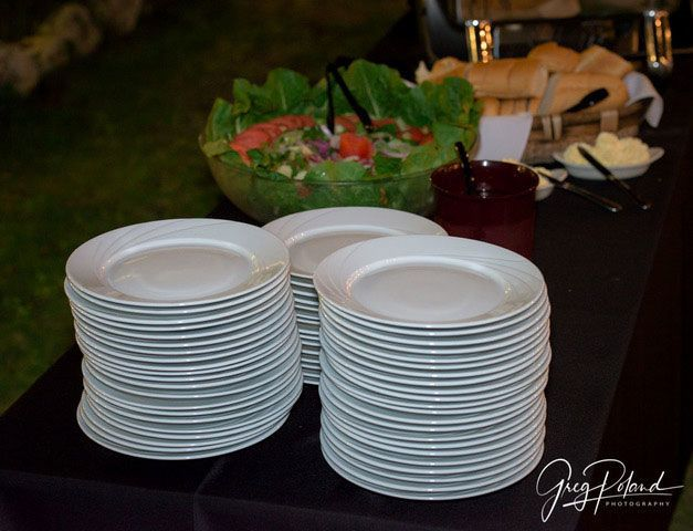Plates for the guests