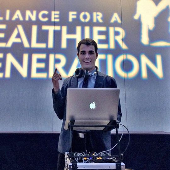 DJing for Alliance for a Healthier Generation
