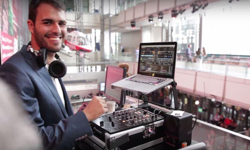 DJ Andrew Logan