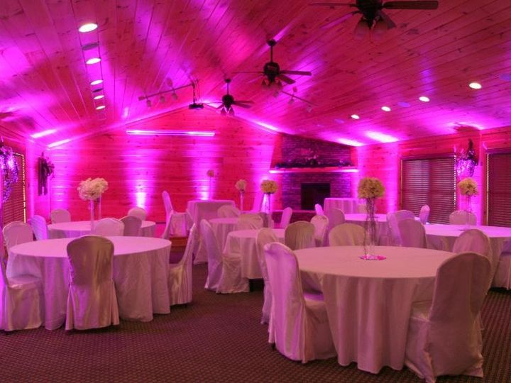 Tmx 1437688020159 Up Lighting Pink Highland Falls wedding dj