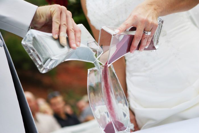 Blending of sand is a great addition to customize a ceremony especially when extended family is...