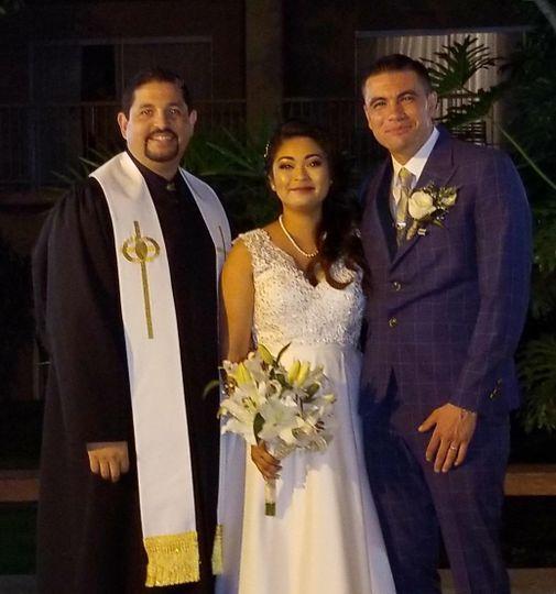 Congratulations to shelly ann & hugo