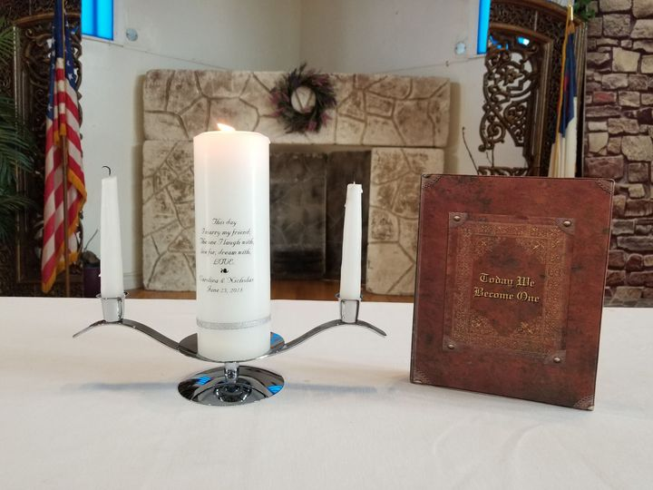 Unity candle ceremonies are a beautiful addition to any ceremony. Ask how to add one to you special...