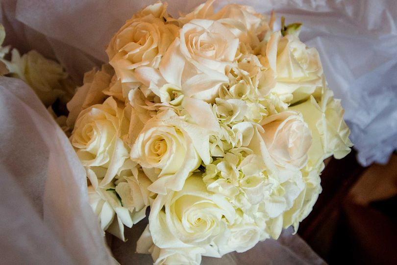 Classic bouquet of flowers