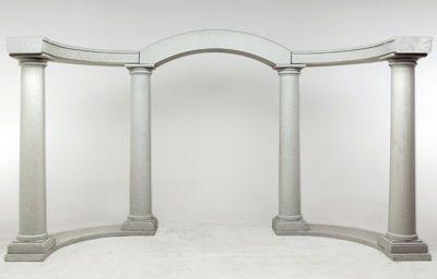 Arch columns