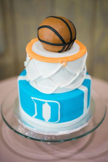 Duke groom's cake