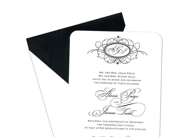 Tmx 1449088548534 As8 Little Falls, NJ wedding invitation