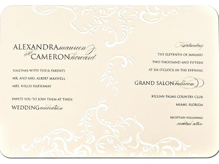 Tmx 1449088568173 As10 Little Falls, NJ wedding invitation
