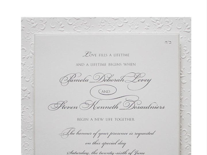 Tmx 1449088604970 As15 Little Falls, NJ wedding invitation