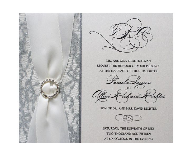 Tmx 1449088616648 As17 Little Falls, NJ wedding invitation