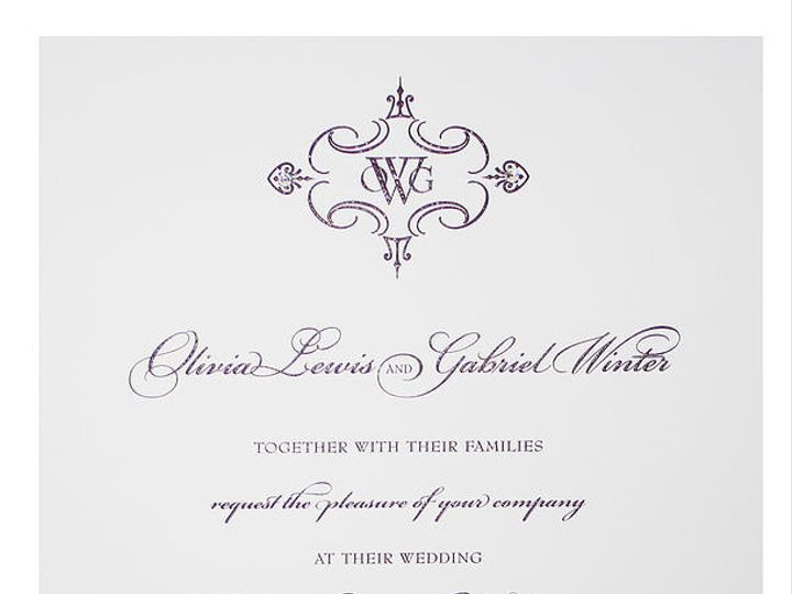Tmx 1449088653503 As24 Little Falls, NJ wedding invitation