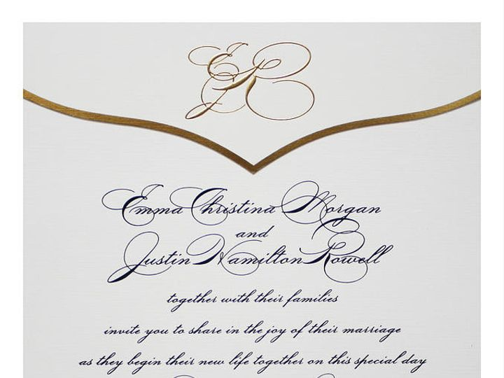 Tmx 1449088698467 As30 Little Falls, NJ wedding invitation