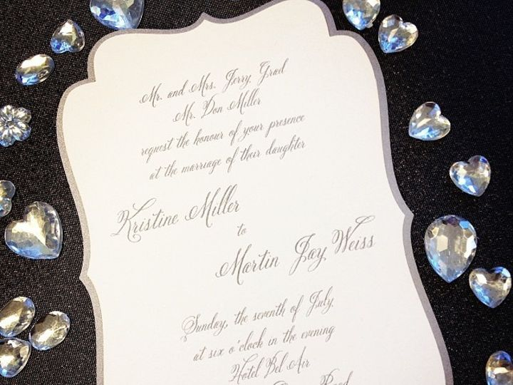 Tmx 1449088849947 Bling13 Little Falls, NJ wedding invitation