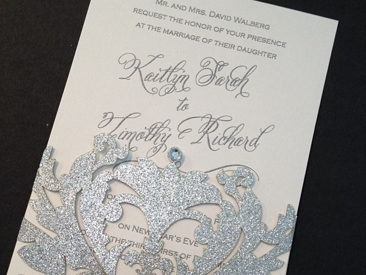 Tmx 1449088861792 Bling15 Little Falls, NJ wedding invitation