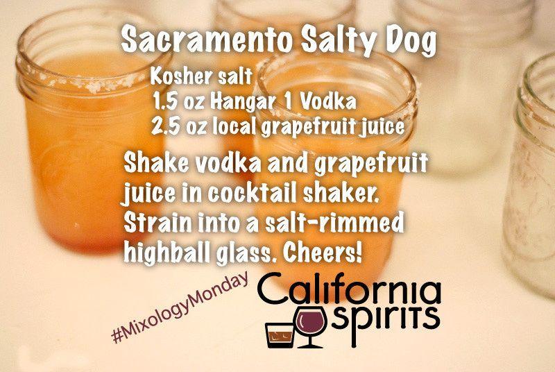Signature Drink: Sacramento Salty DOg