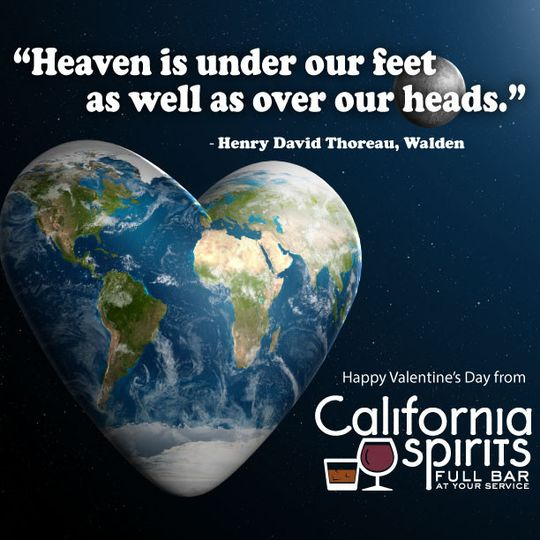 Happy Valentines Day 2014 from California Spirits