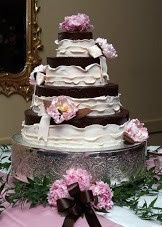 Tmx 1372698106739 Edible Chocpeonies By Darablakeley For Sbg Raleigh wedding cake