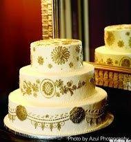 Tmx 1372706837664 Gold Cakeazul Raleigh wedding cake