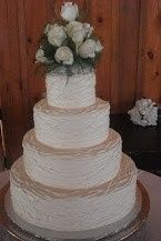 Tmx 1375492724018 Angusbarn.4tiered.roping Raleigh wedding cake
