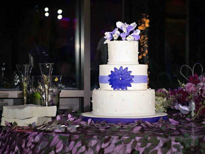 Tmx 1394496452515 Pearlice Digg Raleigh wedding cake