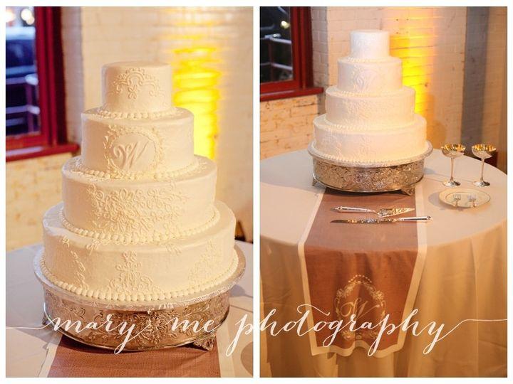 Tmx 1394496460958 Lace.cobbleston Raleigh wedding cake