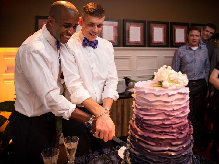 Tmx 1420685228342 Durham Gay Wedding Photographer 30 Raleigh wedding cake