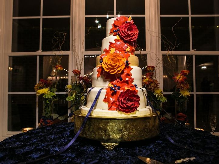 Tmx 1449704117117 Guntonoaks Raleigh wedding cake