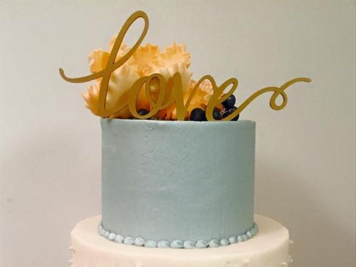 Tmx 1449704248262 Blue And White Raleigh wedding cake
