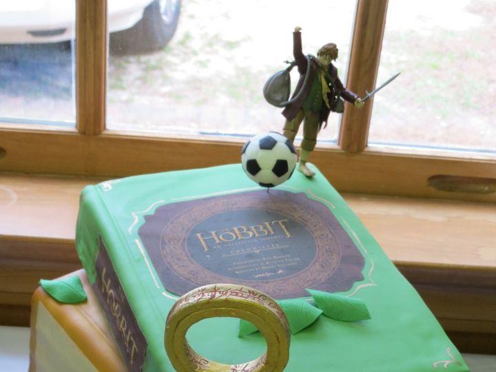 Tmx 1449704557640 Hobbitt Raleigh wedding cake