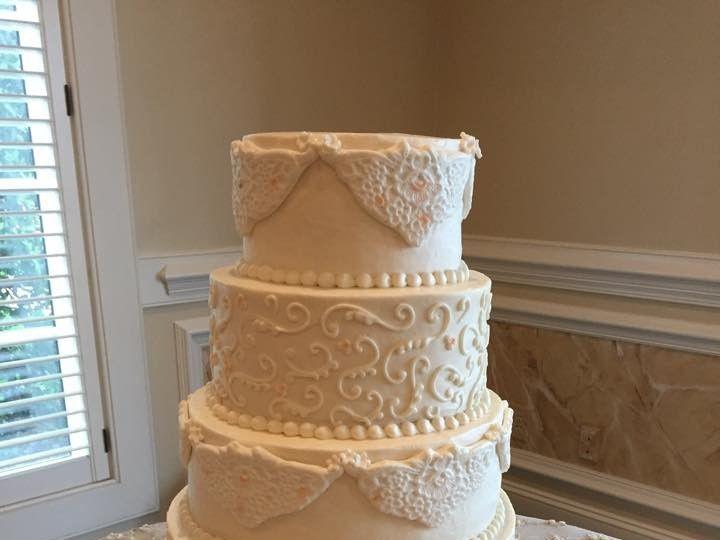 Tmx 1449704717219 Rose Hill Raleigh wedding cake