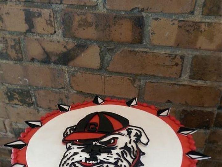 Tmx 1449705522927 Bulldog Raleigh wedding cake