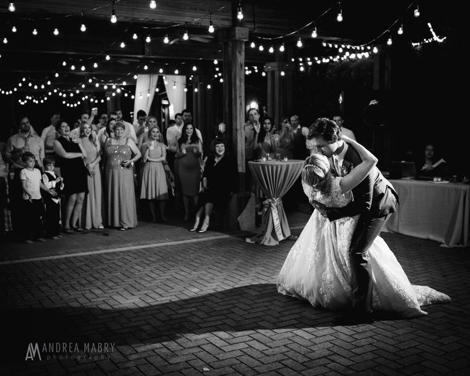 String Lighting | Photo Credit: Andrea Mabry Photography