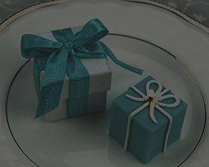 Tiffany Blue Box Favor Candle