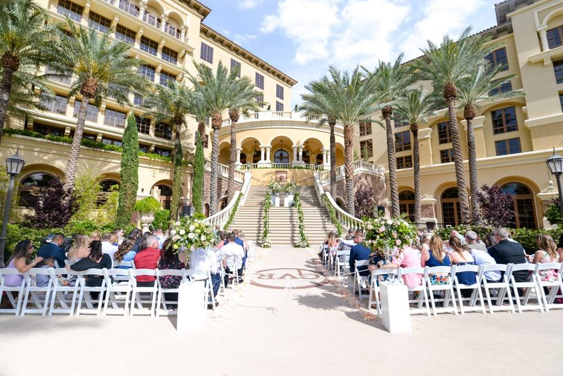 Piazza Staircase Ceremony