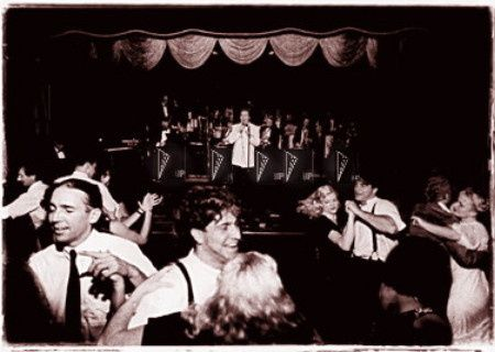 Warren Priske and his Old Hollywood swing band.  Vintage Jazz bamd Wedding band serving Los Angeles,...