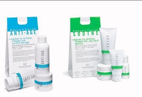 The anti-agin line and the soothe lines.  All lines are compatable and can be used in combination...