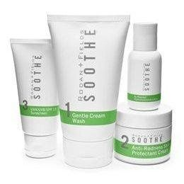 Soothe line for red and easily irritated skin.