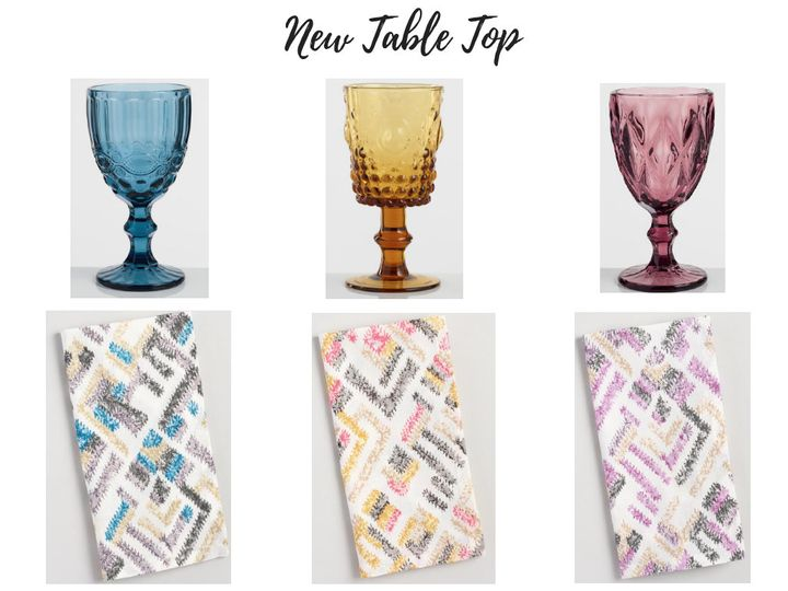 Specialty Glassware and Napkins for your Los Cabos Wedding